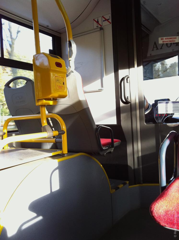В Варшавском автобусе