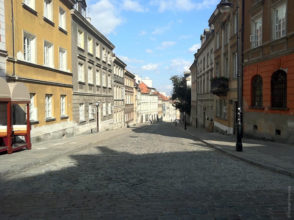 Старый город в Варшаве