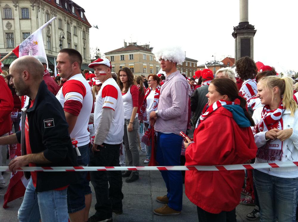 Главная площадь в Варшаве