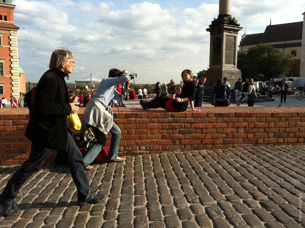 Снимают девочек в Варшаве