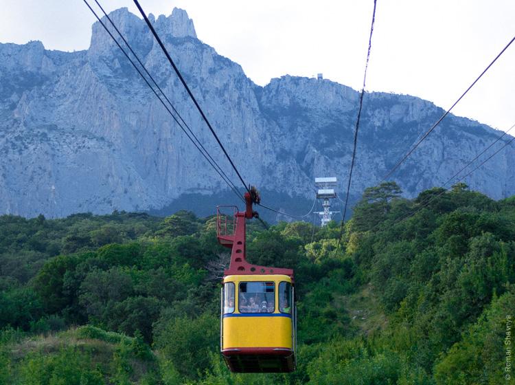 Канатная дорога на гору Ай-Петри