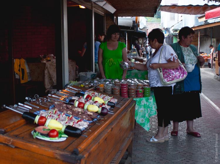 Рынок на горе Ай-Петри