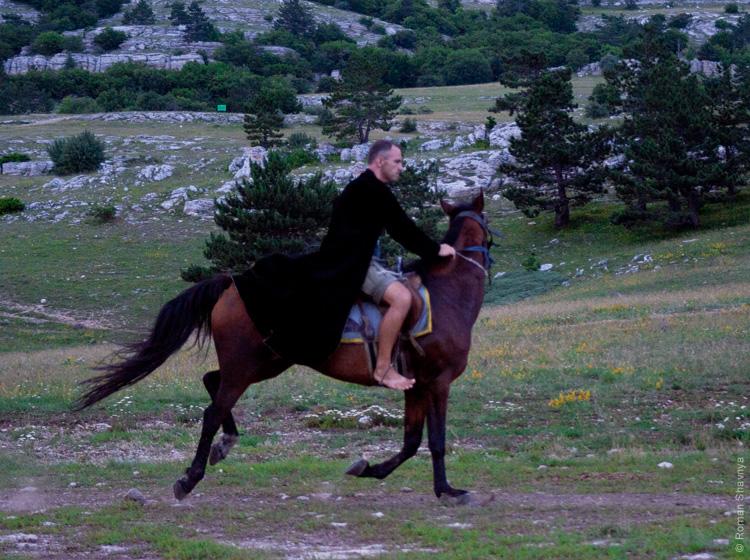 Горец с горы Ай-Петри